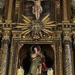 Cristo crucificado y la Inmaculada.