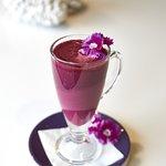 Purple Hot Chololate
