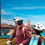 Bike the world-renowned Golden Gate Bridge to Sausalito
