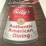 Foto di Billy's American Restaurant