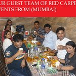 OUR GUEST TEAM OF RED CARPET EVENTS PVT LTD   FROM (MUMBAI)
