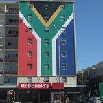 Patriotic McDonald's