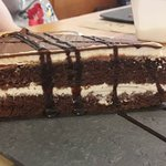 Tarta de ricotta y chocolate