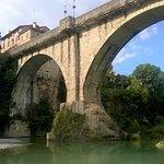 Ponte del diavolo di Cividale visto dal fiume