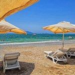 liegeplätze am strand (beteich gehört zum hotel)