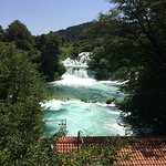 Krka National Park: The streams are full of fish