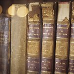 Historic books from the Thorek Manuscripts and Rare Books Collection.