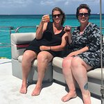 Octopus Aruba Sailing and Snorkeling Catamaran Caribbean Cocktails Mimosa Champagne Blue Crystal