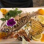 Cena di pesce freschissimo