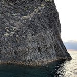 rock formation near Pollonia (can only be seen by boat)