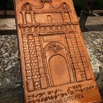 Mdina Main Gate - Baroque gateway plaque 1724