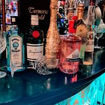 A great selection of wines and gins, spirits ,prosseco gold