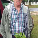 Frank Cochrane, one of our local farmers