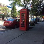 Find us by the red phone booth on Franklin Street!