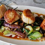 Seared George's Banks Scallops