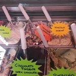 variedade de gelados