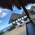 Beautiful poolside at Paradisus