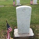 The grave of Harry Kanakaokai, Hawaii, PVT, 1 Hawaii INF, July 8, 1923