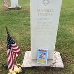 The grave of Manuel Freitas, Hawaii, PFC 105 INF, 27 INF DIV, World War II, May 15, 1922, April