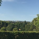 vista da montanha de Cezanne
