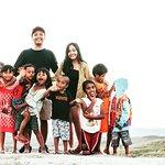 Bersama anak anak di Bukit Wairinding