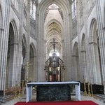 From behind the Altar