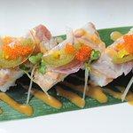 Abri Salmon Oshi-sushi