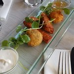 Fried cheese appetizer - delicious!