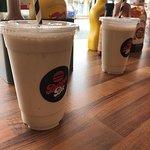 Delicious vanilla shake