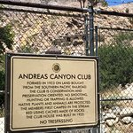Andreas Canyon Club