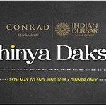 Abhinya Dakshin at Indian Durbar, Conrad Bengaluru