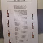In the museum - description of the sauces.