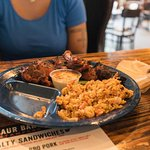 BBQ Fried Rice - Blah
