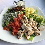 Brown Derby Cobb Entree Salad with Blue Cheese Dressing