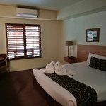 Our King bed room