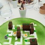 Dessert au chocolat, labyrinthe !!