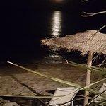 Une soirée  les pieds dans l'eau 😁