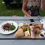 Cheese & ham ploughmans+ the days special