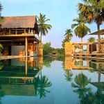Our perfect infinity pool and restaurant and lounge