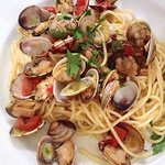 Linguine con Vongole... my favorite!