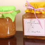 Exquisite home-made lemon jam...