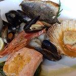 excellent seafood platter