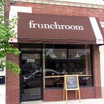 front of & entrance to frunchroom