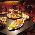 Enjoy our sea food platter BBQ