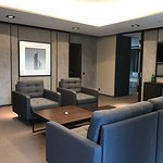 Park-Hotel: suite living zone