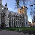 Westminster Abbey -across the bridge
