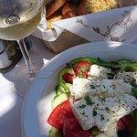 Acropolis Taverna ภาพถ่าย