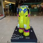 Elephant figure at the entrance to Maya.