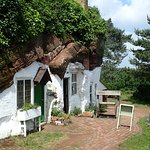 Kinver Rock Houses dating back to about 1880 and inhabited until mid 1950's.
