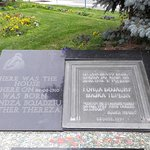 Foto de Memorial plaque of Mother Teresa's birth house